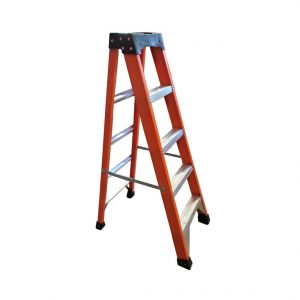 Tradecraft 5' Fiberglass  Step Ladder Grade 1A 300lbs